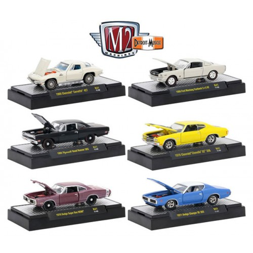 Detroit Muscle Release 41 - Six Car Set