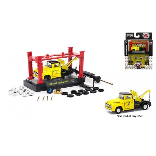 Model-Kits Release 17 - 1956 Ford F-100 Tow Truck