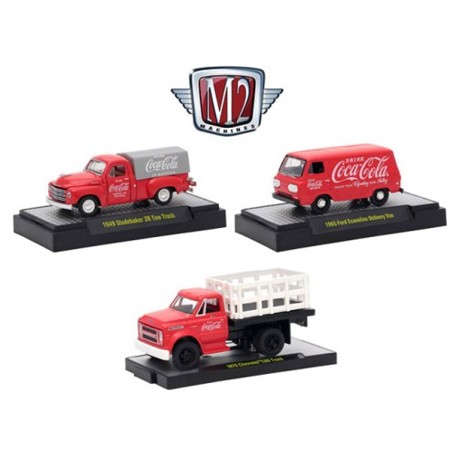Cocca- Cola Release 1 - Three Truck Set