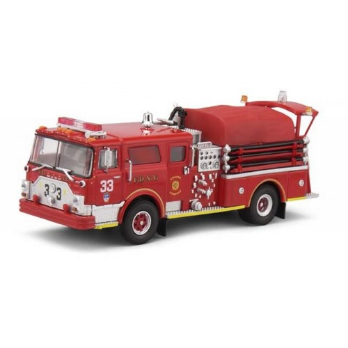 Code 3 Collectibles 1/64 Scale - FDNY Engine 33 - Mack CF Pumper
