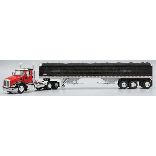 DCP Peterbilt 579 Day Cab with Grain Trailer