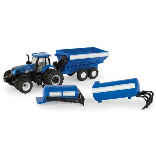 New Holland T8.320 Tractor and Implement Set