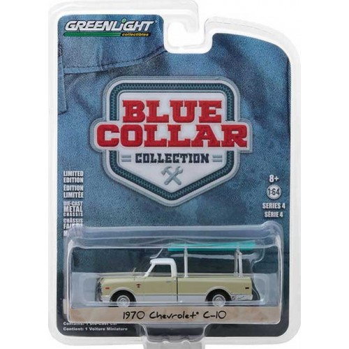 Blue Collar Series 4 - 1970 Chevy C-10 with Ladder Rack