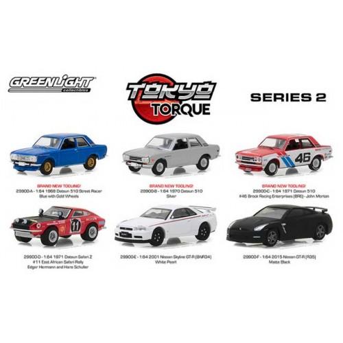 Tokyo Torque Series 2 - Six Car Set