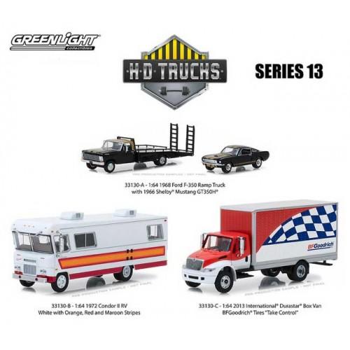 HD Trucks Series 13 - Three Truck Set