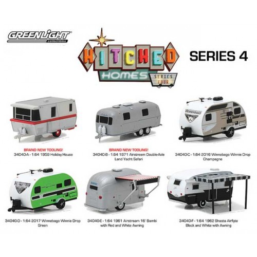 Hitched Homes Series 4 - Six Trailer Set