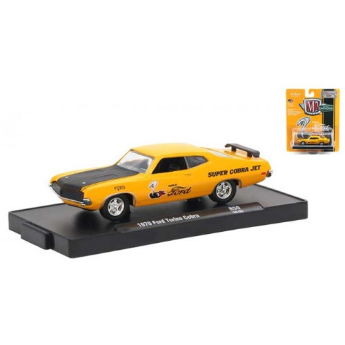 M2 Machines Drivers Release 50 - 1970 Ford Torino Cobra