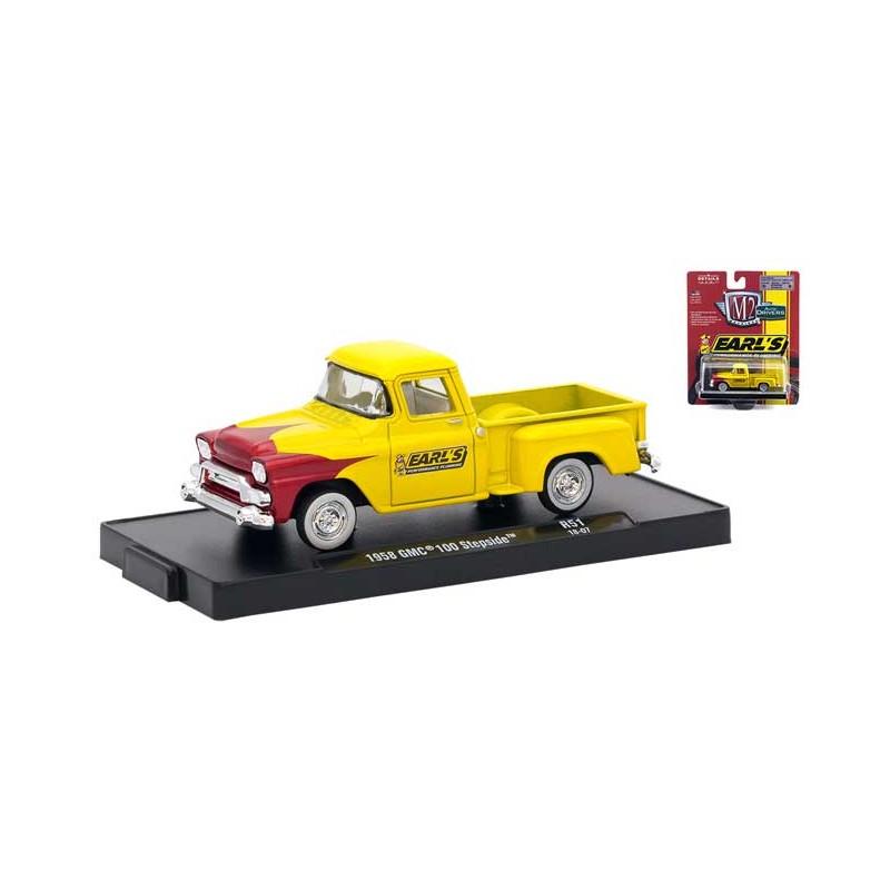 M2 Machines Drivers Release 51 1958 Gmc 100 Stepside Truck