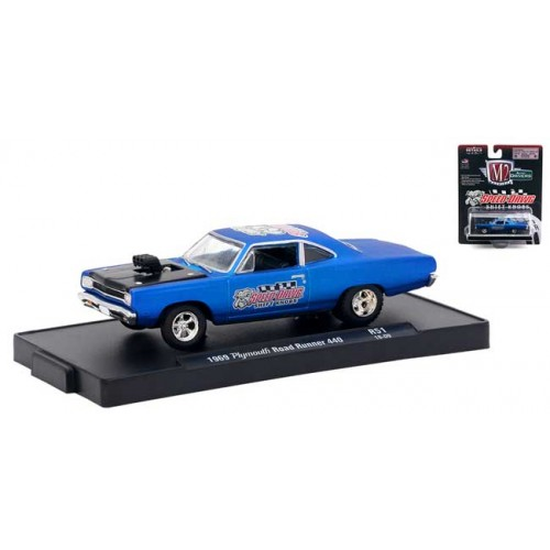 M2 Machines Drivers Release 51 - 1969 Plymouth Road Runner 440