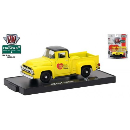 M2 Machines Drivers Release 52 - 1956 Ford F-100 Truck