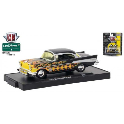M2 Machines Drivers Release 52 - 1957 Chevy Bel Air