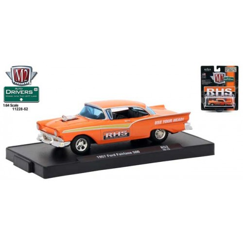 M2 Machines Drivers Release 52 - 1957 Ford Fairlane 500