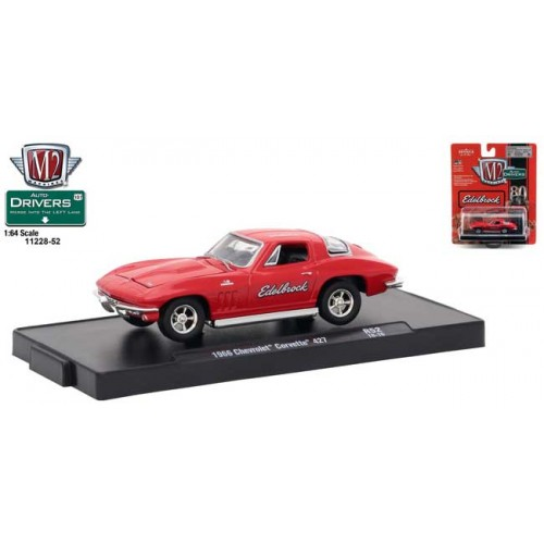 M2 Machines Drivers Release 52 - 1966 Chevy Corvette 427
