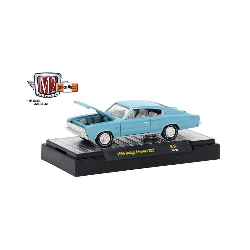 M2 Machines Detroit Muscle Release 42 1966 Dodge Charger 383