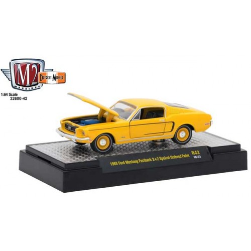 M2 Machines Detroit Muscle Release 42 - 1968 Ford Mustang