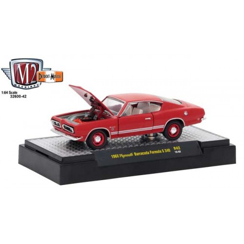 M2 Machines Detroit Muscle Release 42 - 1969 Plymouth Barracuda