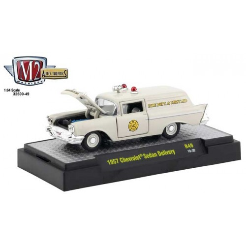M2 Machines Auto-Thentics Release 49 - 1957 Chevy Sedan Delivery