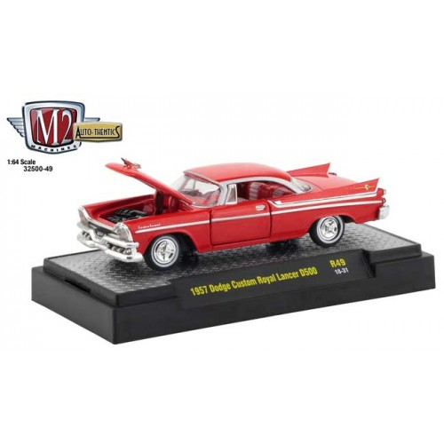 M2 Machines Auto-Thentics Release 49 - 1957 Dodge Custom Royal Lancer