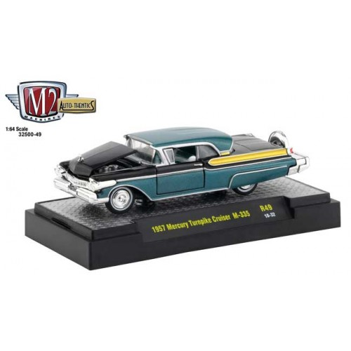 M2 Machines Auto-Thentics Release 49 - 1957 Mercury Turnpike Cruiser