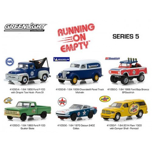 Running on Empty Series 5 - Six Car Set