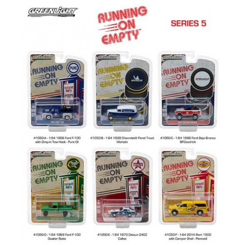 Running on Empty Series 5 - Six Car Set