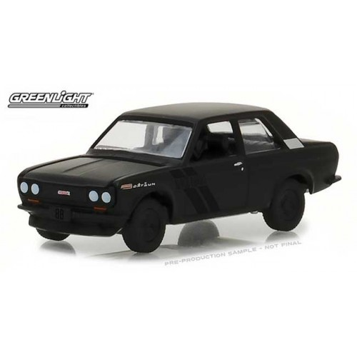 Greenlight Black Bandit Series 19 - 1968 Datsun 510