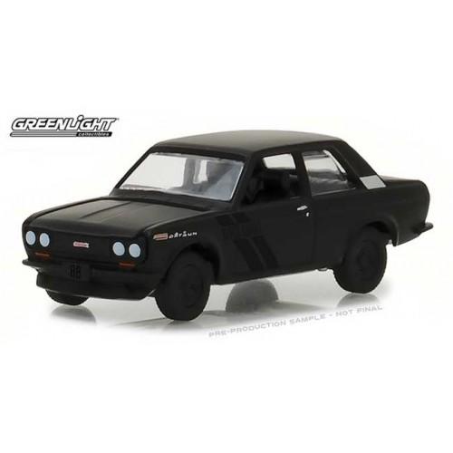Greenlight Black Bandit Series 19 - 1968 Datsun 510