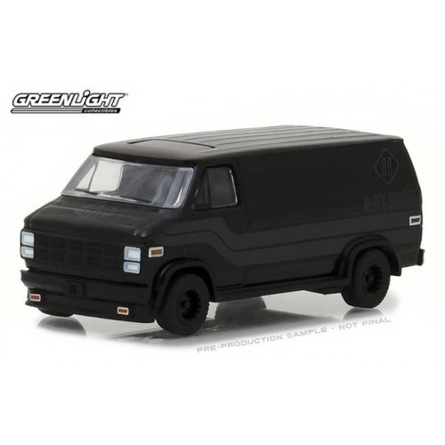 Greenlight Black Bandit Series 19 - 1980 GMC Vandura