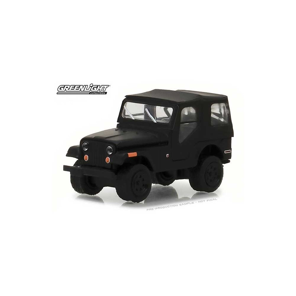 Greenlight Black Bandit Series 19 - 1970 Jeep CJ-5
