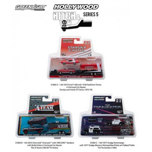 Greenlight Hollywood Hitch and Tow Series 5 - Set