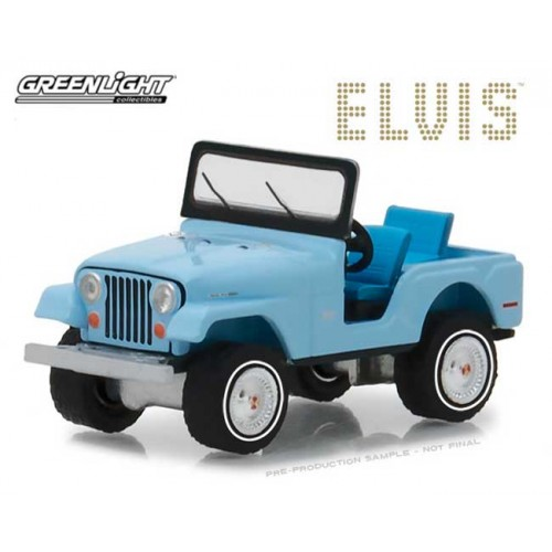 Greenlight Hobby Exclusive - Jeep CJ-5 Elvis Presley