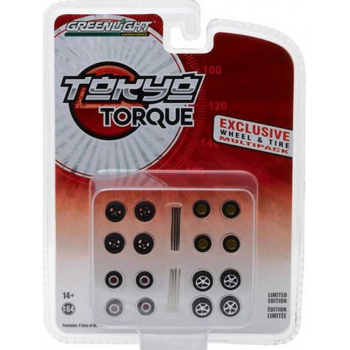 Greenlight Hobby Exclusive - Tokyo Torque Wheel and Tire Pack