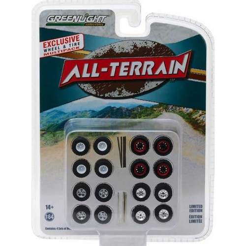 Greenlight Hobby Exclusive - All-Terrain Wheel and Tire Pack