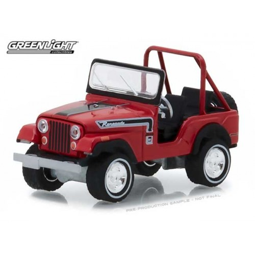 Greenlight Hobby Exclusive - 1974 Jeep CJ-5 Renegade