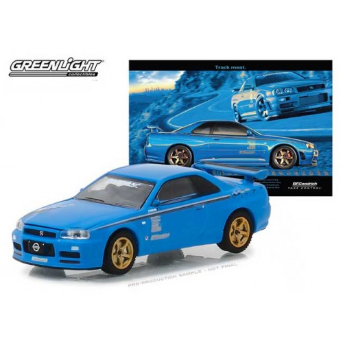 Greenlight Hobby Exclusive - 2001 Nissan Skyline GT-R (R34)