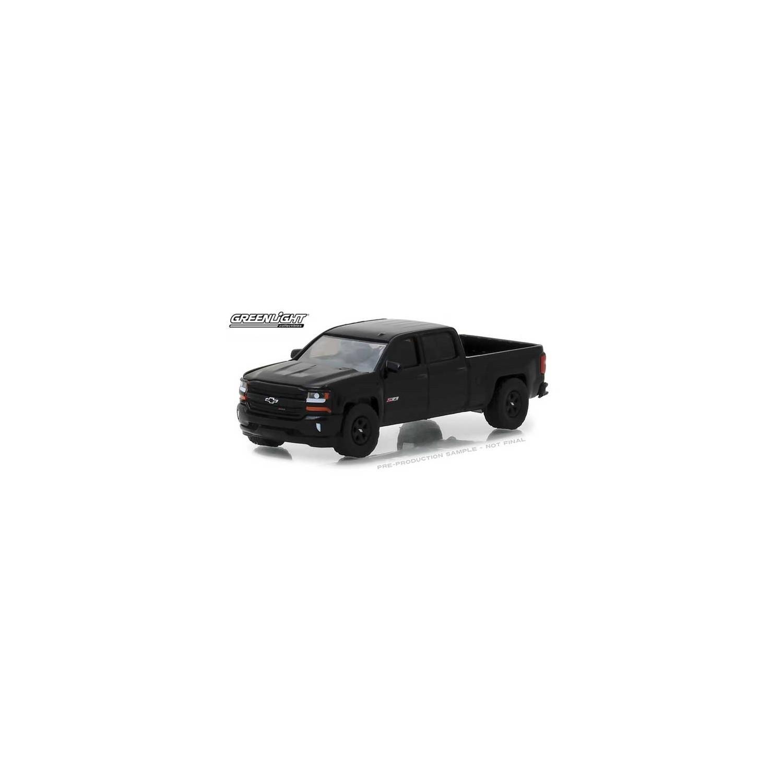 Greenlight Hobby Exclusive 2018 Chevrolet Silverado 1500 MIDNIGHT EDITION