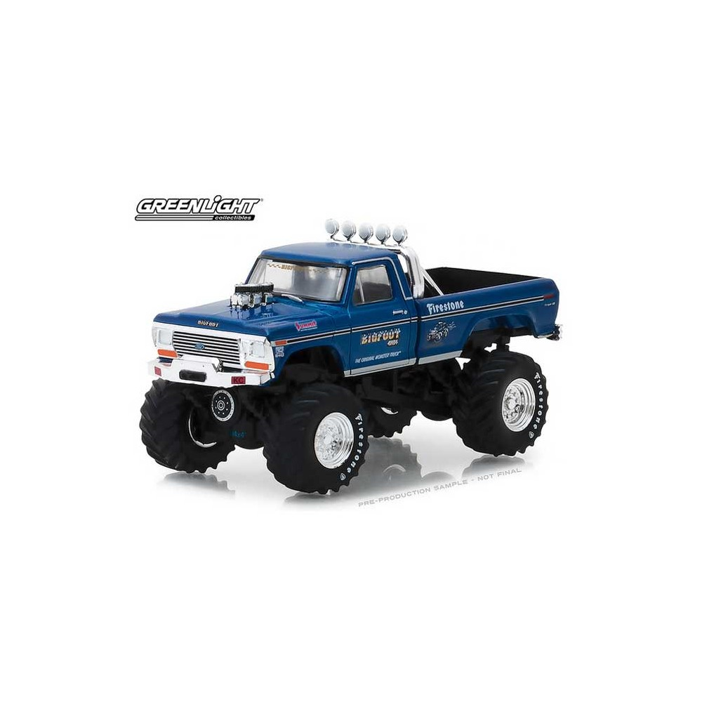 Greenlight Hobby Exclusive - 1974 Ford F-250 Monster Truck Bigfoot