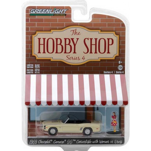 Greenlight The Hobby Shop Series 4 - 1969 Chevy Camaro Convertible