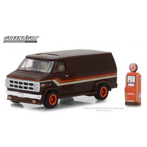 Greenlight The Hobby Shop Series 4 - 1978 GMC Vandura Custom