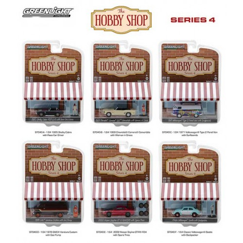 Greenlight The Hobby Shop Series 4 - Six Car Set