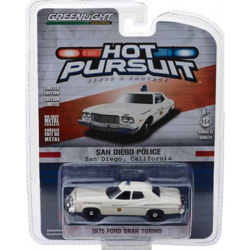 Greenlight Hot Pursuit Series 27 - 1975 Ford Gran Torino