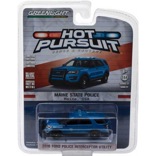 Greenlight Hot Pursuit Series 27 - 2016 Ford Police Interceptor Utility