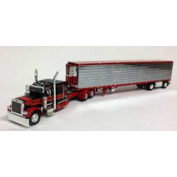 DCP Peterbilt 379 with Spread Axle Refrigerated Trailer