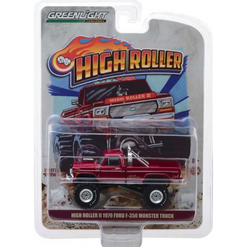 Greenlight Hobby Exclusive -  High Roller II Monster Truck