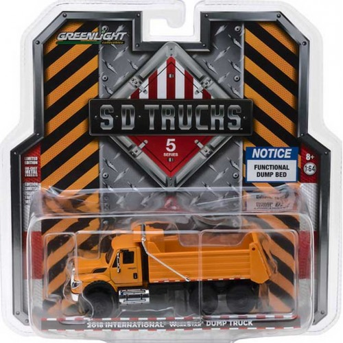 Greenlight SD Trucks Series 5 - 2018 International WorkStar Dump Truck