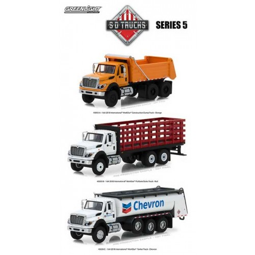 Greenlight SD Trucks Series 5 - Three Truck Set