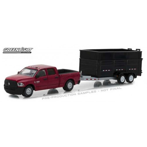 Greenlight Hitch and Tow Series 14 - 2017 RAM 2500 with Dump Trailer