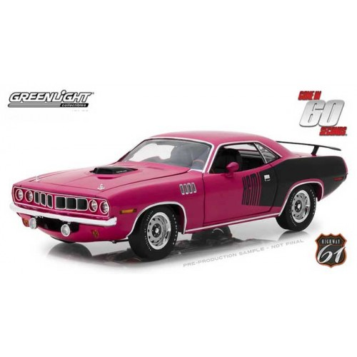Greenlight Highway 61 - 1971 Plymouth HEMI Cuda Gone in Sixty Seconds