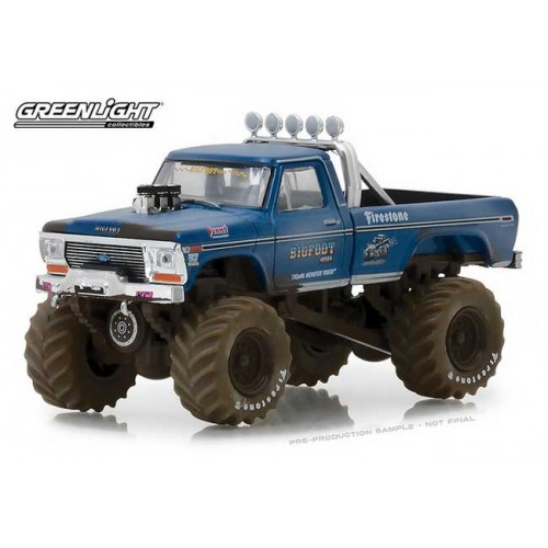 Greenlight Kings of Crunch Series 1 - 1974 Ford F-250 Monster Truck Bigfoot