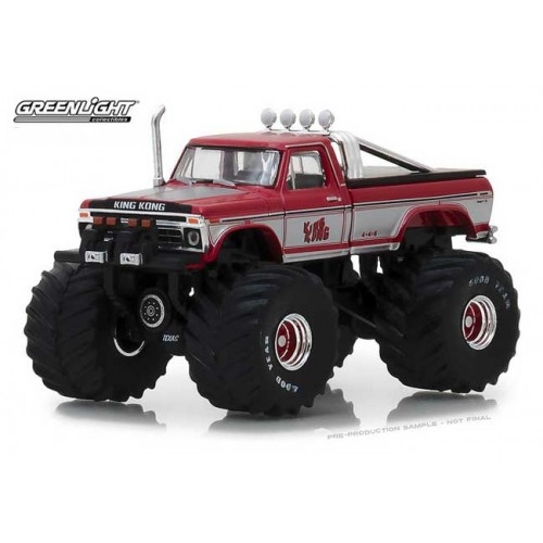 Greenlight Kings of Crunch Series 1 - 1975 Ford F-250 Monster Truck King Kong
